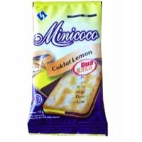 Minicoco Malkist Crackers Choco Lemon