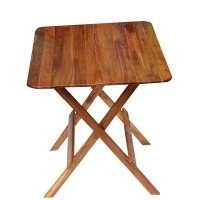 Portable Folding Wooden Table