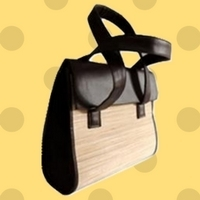 Bamboo Utility Side Bag