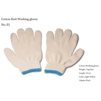 Cotton Knit Working Gloves