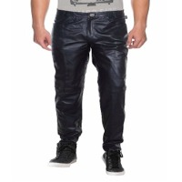 Leather Slim Fit Pant