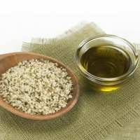 Hemp Oil, Flaxseed Oil And Grapeseed Oil