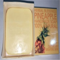 Herbal Blessings Pineapple Handmade Soap