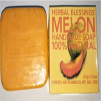 Herbal Blessings Melon Handmade Soap
