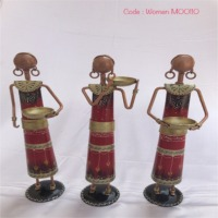 Iron Women Statue Handicraft