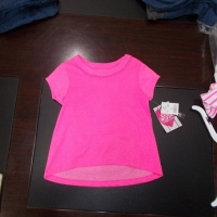 Baby Girl Short Sleeve T-Shirts