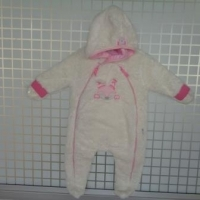 Girls Hooded With Full Sleeve Rompers