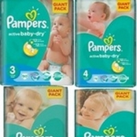 Pampers Giant Pack Diapers