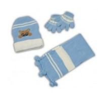 Sets Of Kids Hat, Scarf And Gloves