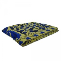Hand Crafted Suzani Twin Size Bedspread