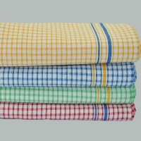 Tea Towels - Mini Color Checked Design