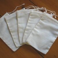 Cotton Coin Bags