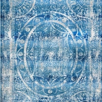 Machine Woven Crossweave Polyester Area Rug