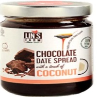 Chocolate Date Spread With Coconut