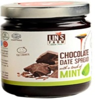 Chocolate Date Butter Spread With Mint