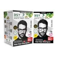 Bsy Noni  Black Hair Dye Shampoo- 12ml
