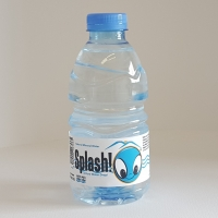Splash Natural Mineral Water 330 Ml bottle