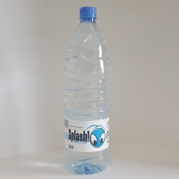 Splash Natural Mineral Water 1.5 L Bottle