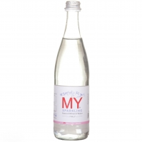 My Sparkling Natural Mineral Water Glass Bottle