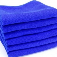 Smooth Microfiber Cleaning Towel