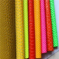 PVC Stock Leather For Ladies Bags
