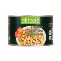 Canned Chickpeas With Tomato Sauce