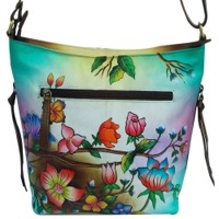 Women's Hand Painted Shoulder Bag