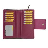 Men's Leather Standing Wallet