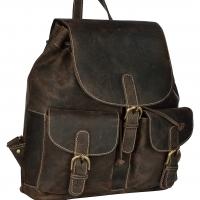 Unisex Handbag (Brown) Backpack