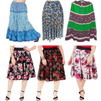 Short And Full Length Ladies Skirts
