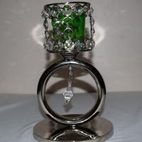 Crystal Tea Light Holder-2