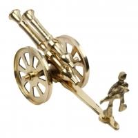 Brass Rajasthani Canon Handicraft Home Décor