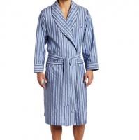 Stripe Woven Robe