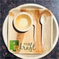 Palm Leaf Bio Degradable Plates And Cups