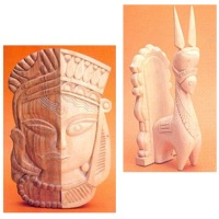 Wood crafts & carvings