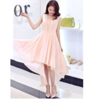 Exclusive Designer Peach Dress