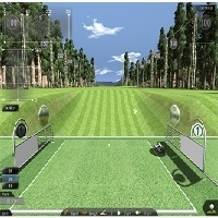 Low Floor Sensor Screen Golf