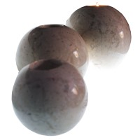 Candle Holder Ball Marble Set Of 3