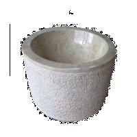 Wash Basin Cone Hammered