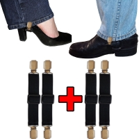 Biker Casual Elastic Adjustable Boot Straps
