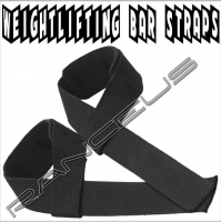 Power Weight Lifting Training Bar Straps