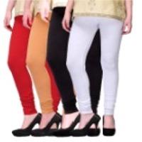 Womens Cotton Churidaar Legging