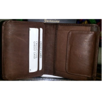 Men Bifold Leather Wallets