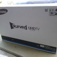 Curved UHD Television