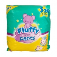 Fluffy Baby Diapers (Tape/ Pants)