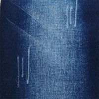 Rolls Of Slub Raw Denim Jeans Fabric