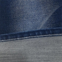 10OZ Slub Jaquard Stretch TR Denim Fabric