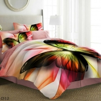 Bedding Set Butterflies Double 6pcs