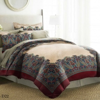 Bedding Set Life Styles Double 6pcs