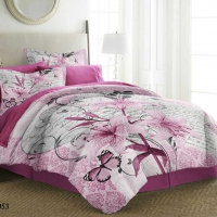 Bedding Set Natures Double 6pcs